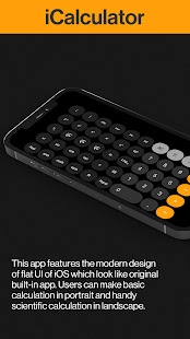 Advance iCalculator - Calculator App 1.0.1 APK + Mod (Free purchase) for Android