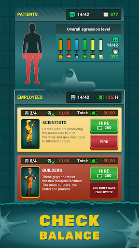 Zombie Hospital Tycoon: Idle Management Game 0.40 screenshots 11