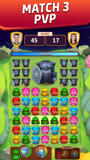 Cat Force - PvP Match 3 Puzzle Game 0.29.0 screenshots 1