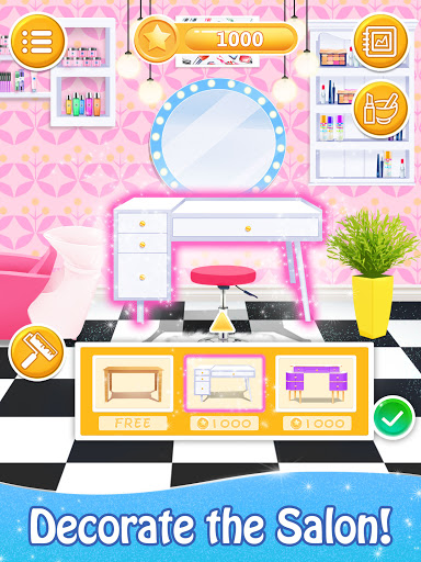 Salon Games for Girls: Spa Makeover Day  screenshots 13