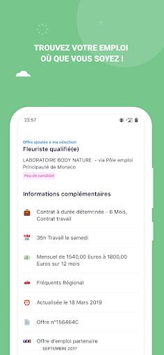 Mes Offres - Pu00f4le emploi apktram screenshots 4