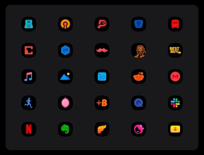 OneUI 3 Black – Icon Pack APK (PAID) Download 3