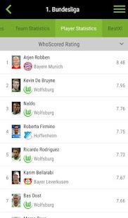 WhoScored Football App screenshots 5