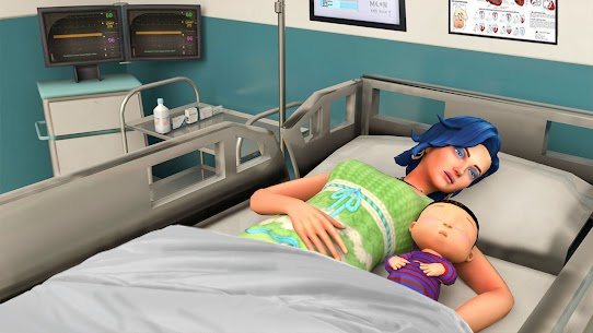 Virtual Pregnant Mother Simulator Games 2021 APK + MOD (Money) 3
