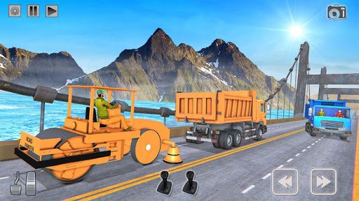 Heavy Construction Mega Road Builder apktram screenshots 4