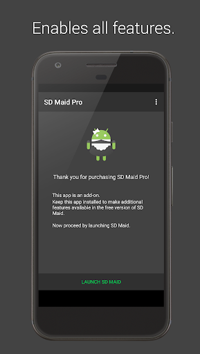SD Maid Pro - Unlocker screen 0