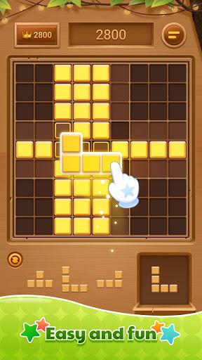 Code Triche Wood Block Puzzle - Free Sudoku Tetris Jigsaw Game (Astuce) APK MOD screenshots 2