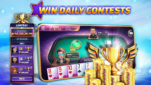 Gin Rummy Stars - Best Card Game of Rummy online! 1.9.502 screenshots 4