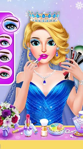 Ice Princess Wedding Dress Up Stylist 0.11 screenshots 4