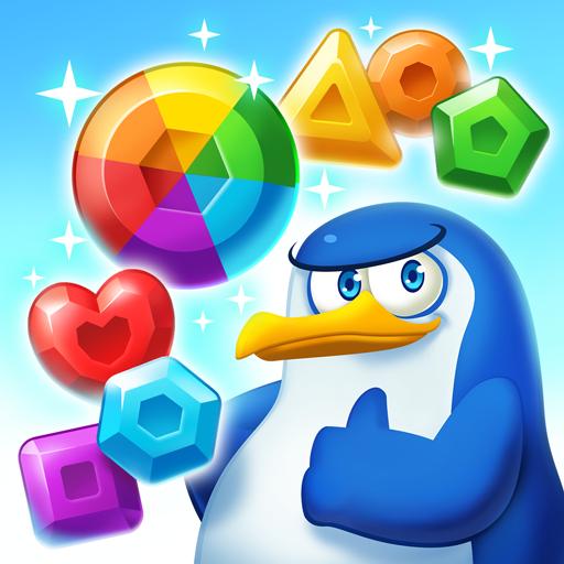 Penguin Puzzle Party