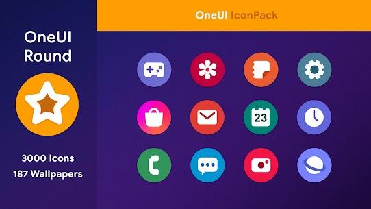 OneUI 3 – Round Icon Pack 1