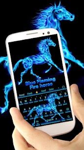 Flaming horse Keyboard 10001006 Download APK Mod 3