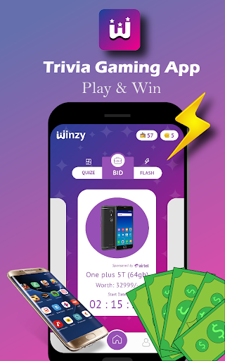 Winzy - Free Quiz, Trivia Gaming App 3.0.5 Screenshots 2