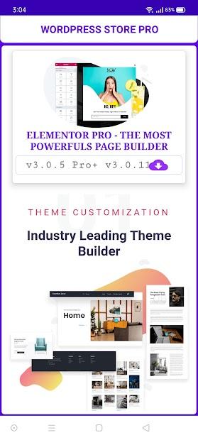 WordPress Store Pro screenshot 2