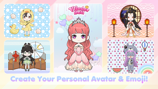 Vlinder Doll - Dress up Games, Avatar Creator 2.6.7 screenshots 1