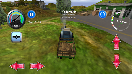 Tractor Farm Driving Simulator apkslow screenshots 2