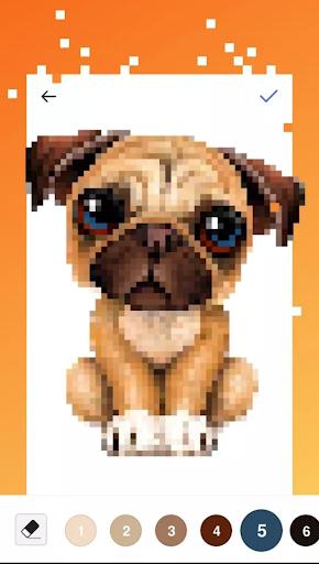 Unicorn Art Pixel - Color By Number  Screenshots 8