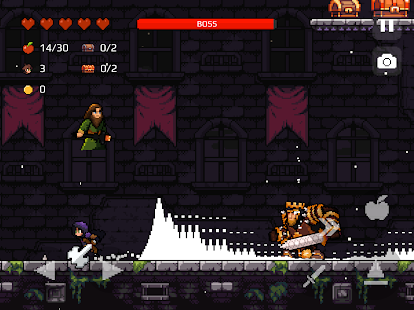 Apple Knight: Action Platformer Screenshot