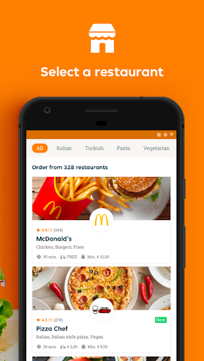 Just Eat France - Food Delivery android2mod screenshots 2