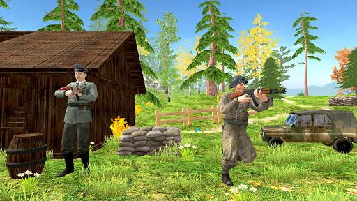 World War Firing Squad: Free FPS Fire Shooting 3D android2mod screenshots 5