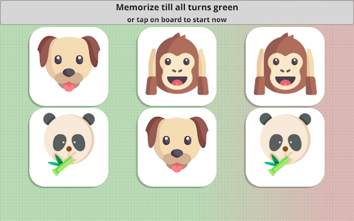Picture Matching Memory Game