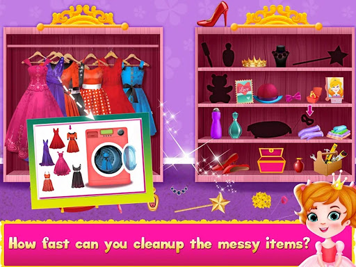 Cleaning games Kids - Clean Decor Mansion & Castle 8.1 screenshots 14