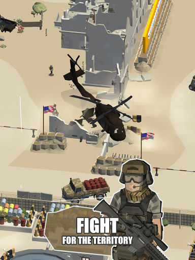 Idle Warzone 3d: Military Game - Army Tycoon screenshots 13