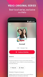 Vidio - Watch Video, TV & Live Streaming Screenshot