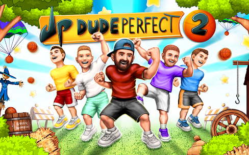 Dude Perfect 2  App For PC (Windows 7, 8, 10) Free Download 1