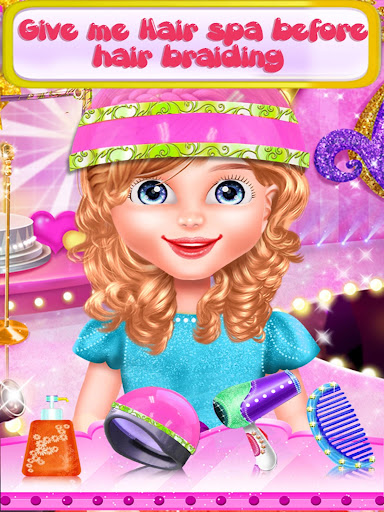 Fairy Fashion Braided Hairstyles games for girls apkpoly screenshots 7