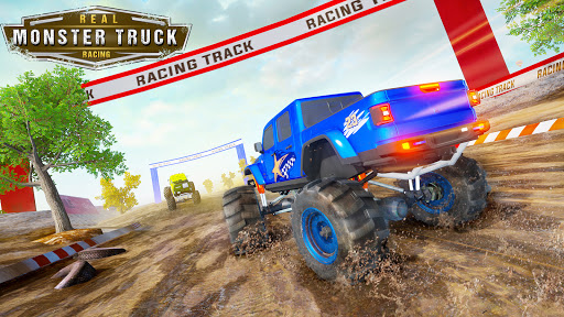 Monster Truck Car Racing Game apktram screenshots 9