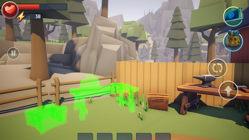 Tegra: Crafting and Building Survival Shooter screenshots 1