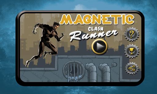 magnetic clash runner screenshot 1