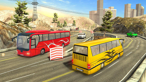 Modern Bus Drive :Hill Station  screenshots 11
