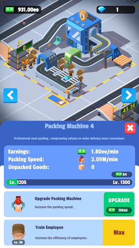 Idle Courier Tycoon - 3D Business Manager  Screenshots 14