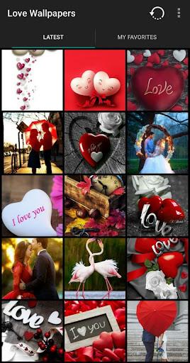 love wallpapers - backgrounds screenshot 1