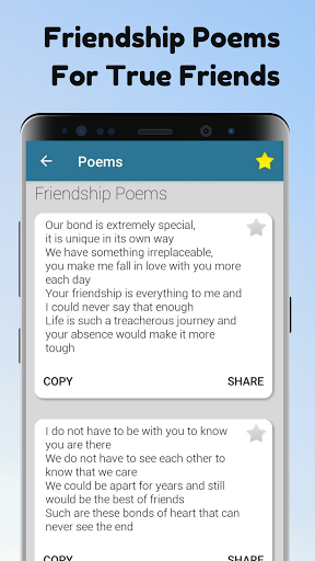 Poems For All Occasions - Love, Family & Friends android2mod screenshots 5