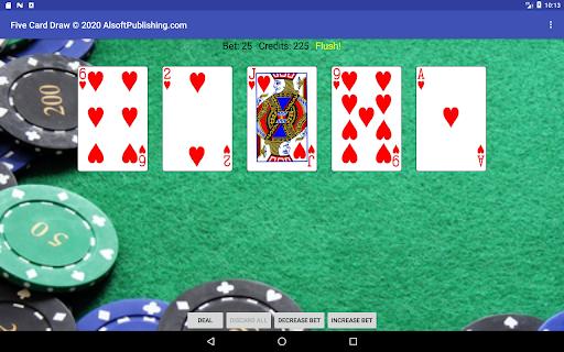Five Card Draw Poker  screenshots 13