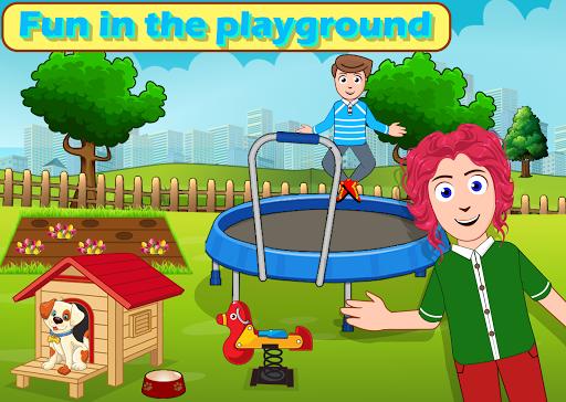 Kids Mini Home Family Life - My Toys House Town Apkfinish screenshots 2
