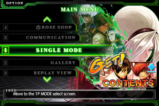 Code Triche THE KING OF FIGHTERS-A 2012(F) APK MOD (Astuce) screenshots 1