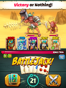 Battlejack: Blackjack RPG Screenshot