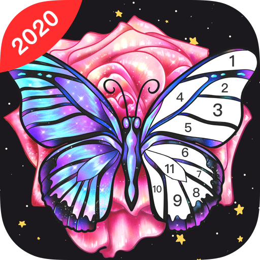 Fun Color:Coloring Games & Happy Color by Number