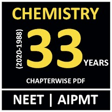 33 YEAR NEET CHEMISTRY PAST PAPER WITH SOLUTION icon