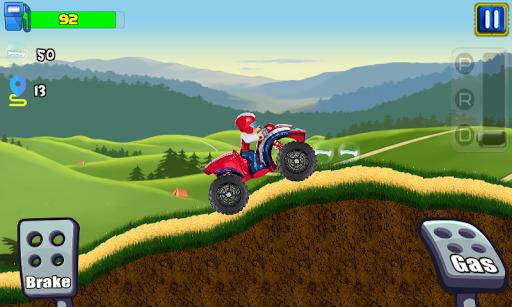 paw ryder atv climb racing screenshot 1