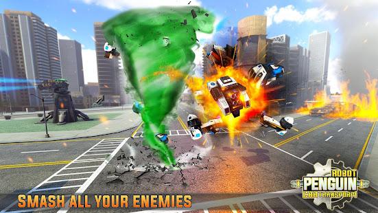 Penguin Robot Car Game: Robot Transforming Games 5 screenshots 3