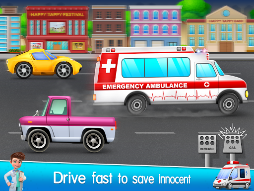 Ambulance Doctor Hospital - Rescue Game  screenshots 1