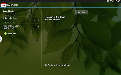 Moniusoft Calendar Screenshot