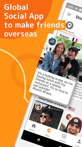Airtripp:Free Foreign Chat apktram screenshots 1