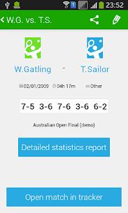 Tennis Math  score keeper and statistics tracker 2