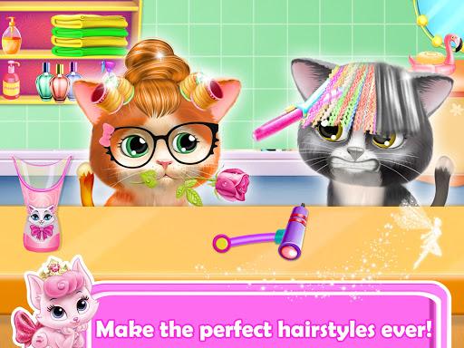 Pet Kitty Hair Salon Hairstyle Makeover  screenshots 3